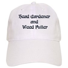 Head Gardener Baseball Cap
