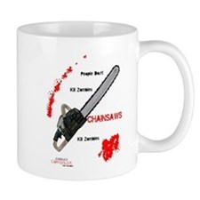 Chainsaws Kill Zombies Mug