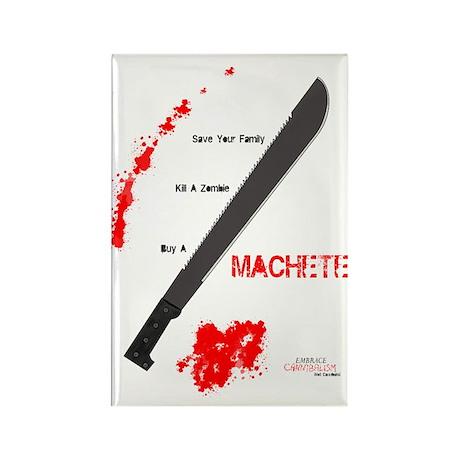Buy a Machete Rectangle Magnet