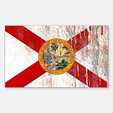 Florida Grunge Flag Decal