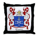 Lzawa Coat of Arms Throw Pillow