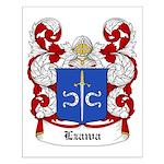 Lzawa Coat of Arms Small Poster