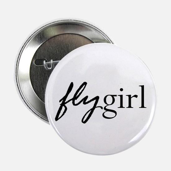 Fly Girl Button
