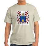 Luzinski Coat of Arms Ash Grey T-Shirt