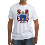 Luzinski Coat of Arms Fitted T-Shirt