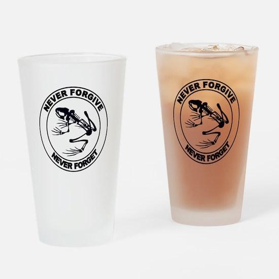 Desert Frog - Never Forgive Drinking Glass