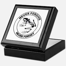 Desert Frog - Never Forgive Keepsake Box