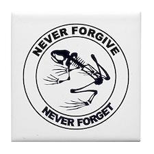 Desert Frog - Never Forgive Tile Coaster