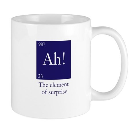 The element of surprise Mug