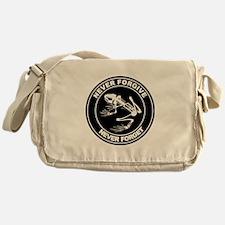 Desert Frog - Never Forgive Messenger Bag