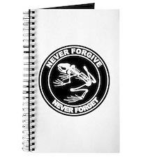 Desert Frog - Never Forgive Journal