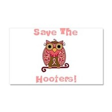 Save The Hooters! Car Magnet 20 x 12