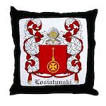 Losiatynski Coat of Arms Throw Pillow