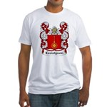 Losiatynski Coat of Arms Fitted T-Shirt