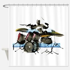 Drummer Shower Curtain