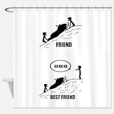 Friend / Best Friend Shower Curtain