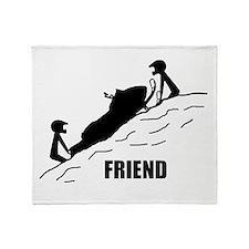 Friend / Best Friend Throw Blanket