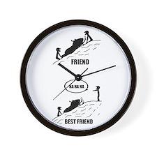 Friend / Best Friend Wall Clock