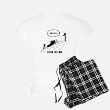 Friend / Best Friend Front Black Pajamas