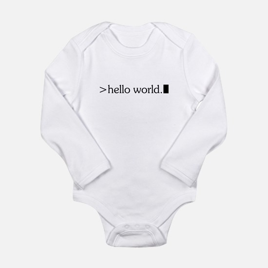 Cute Computer programming Long Sleeve Infant Bodysuit