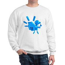 Blue House Screaming Sweatshirt