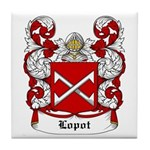Lopot Coat of Arms Tile Coaster