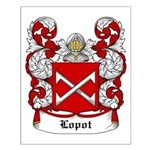 Lopot Coat of Arms Small Poster
