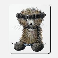 Ferret Caricature Mousepad
