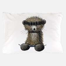 Ferret Caricature Pillow Case