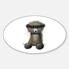 Ferret Caricature Decal