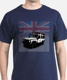 Union Jack Land Rover Defender T-Shirt