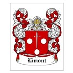 Limont Coat of Arms Small Poster