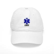 White Star of Life EMT Baseball Cap