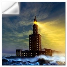 Pharos lighthouse of Alexandria, artwork Wall Decal