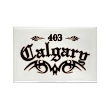 Calgary 403 Rectangle Magnet