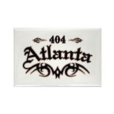 Atlanta 404 Rectangle Magnet