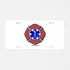 Maltese Cross Star of Life License Plate