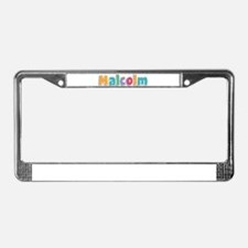 Malcolm License Plate Frame
