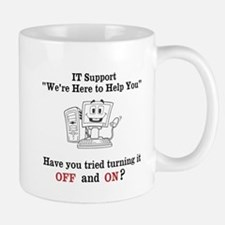 IT Support Funny Office Mug