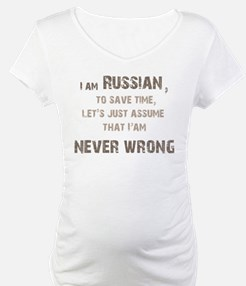Russians Never Wrong! Shirt