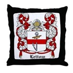 Lettow Coat of Arms Throw Pillow