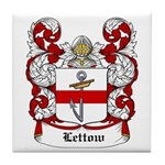 Lettow Coat of Arms Tile Coaster