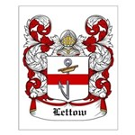 Lettow Coat of Arms Small Poster