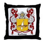 Lettaw Coat of Arms Throw Pillow