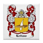 Lettaw Coat of Arms Tile Coaster