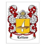 Lettaw Coat of Arms Small Poster