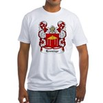 Leszczyc Coat of Arms Fitted T-Shirt