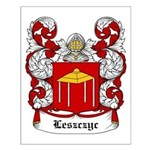 Leszczyc Coat of Arms Small Poster
