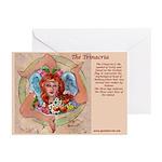 The Trinacria Name Greeting Cards (Pk of 20)