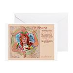The Trinacria Name Greeting Cards (Pk of 10)